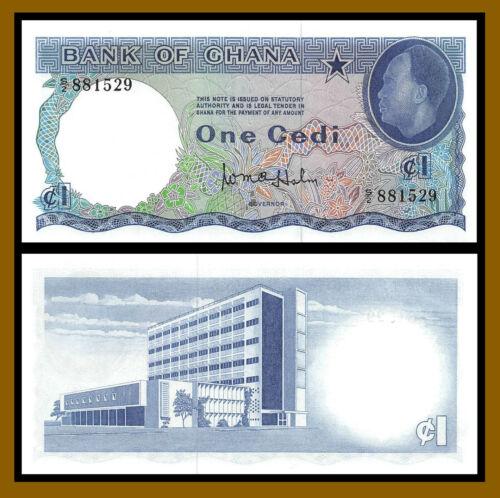 Ghana 1 Cedi, 1965 P-5 Unc