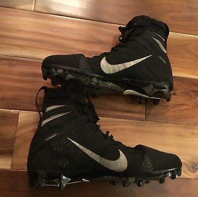 reputable site 77992 23d4e Mens Nike Grip Vapor Flyknit Untouchable 3 Elite Football Cleats Shoes Sz  US 10