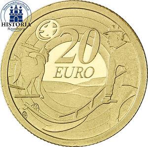 Irland 20 Euro Goldmünze 2009 PP Der Pflüger, 80 Jahre Ploughman Banknoten