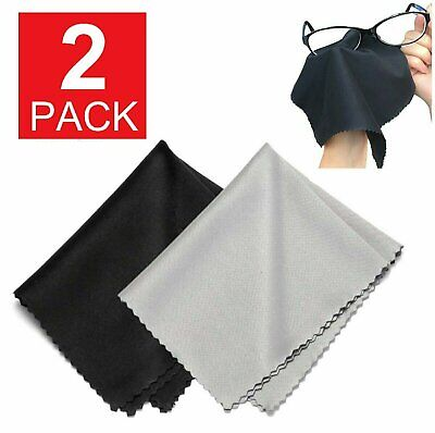 2 pieces Premium MICROFIBER cloth  Eyeglass Cleaning Camera LCD Screen Sunglass Health & Beauty