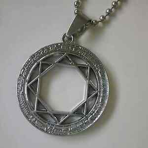 Stainless Steel 8 Pointed Star Symbol Pendant Necklace & Chain Kallangur Pine Rivers Area Preview