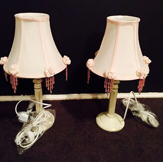 New floor stock pink lamps bedside lamps  Penrith Penrith Area Preview