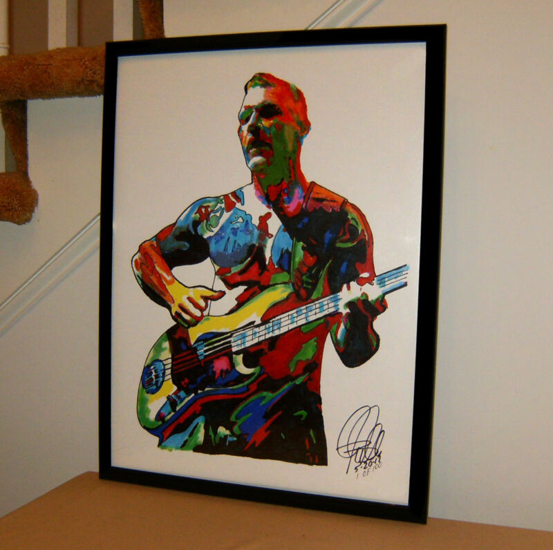 Tim Commerford Rage Against the Machine Bass Music Poster Print Wall Art 18x24