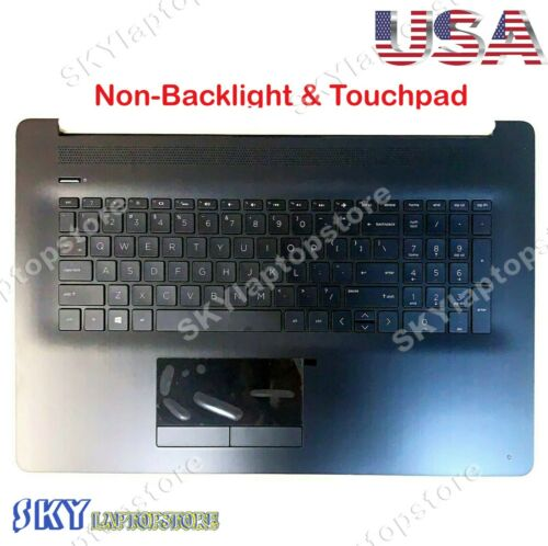NEW HP 17-BY 17-CA Palmrest w/ Non-Backlit Keyboard & Touchpad L22750-001 US