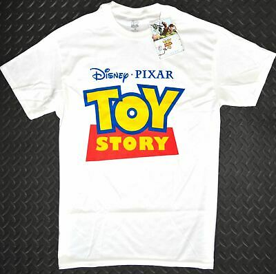 Toy Story T Shirt Primark Mens 100% Cotton Disney Pixar Logo UK Sizes M to XXL