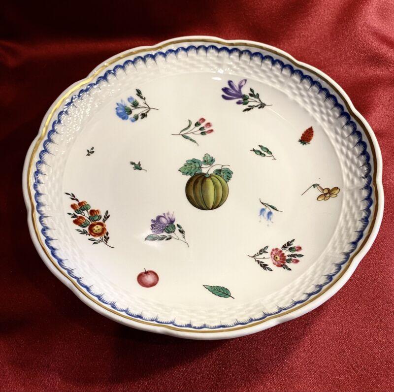 "Richard Ginori Antico Doccia ITALIAN FRUITS ~ COUPE SOUP BOWL  7 1/2""  HARD FIND"