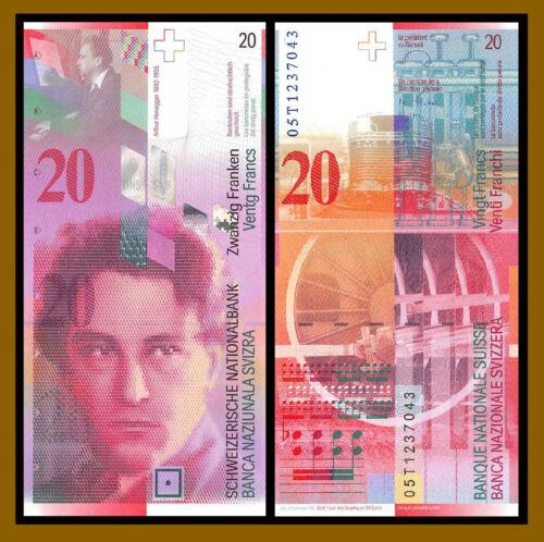Switzerland 20 Francs, 2014 P-69h Banknote Unc