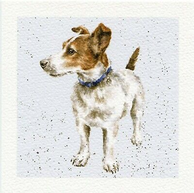 Dog Greeting Card Jack Russell by Wrendale Design