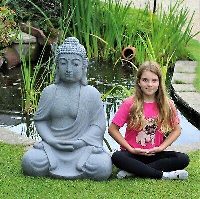 Garden Ornament Large Giant Sitting Buddha  Effect Outdoor Indoor Statue Thai 1M