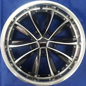 SET OF FOUR (4) SPEEDY 18x8 5/120 et40 COVERT Seacombe Gardens Marion Area Preview