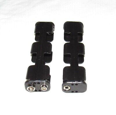 2 Battery Holders 4 Aa Metal Detector For Garrett Fisher Radio