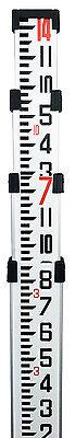 14 Northwest Aluminum Survey Level Rod Stick Inches Nar14