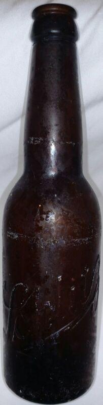 Schlitz Brewery beer bottle Pre Pro Era 1915-1920