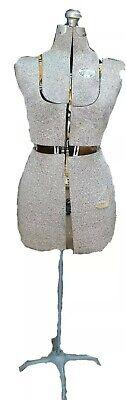 Vintage Acme Lm Adjustable Dress Form Size B Brooklyn Ny Read Desc. Amazing