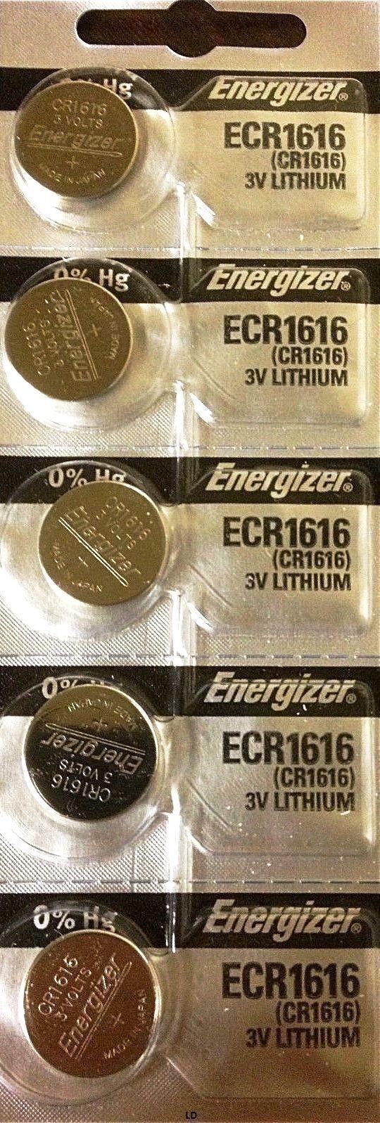 5 x Fresh ENERGIZER CR1616 BATTERY 3V LITHIUM CR 1616 DL1616 BR1616 EXP 2027 Consumer Electronics