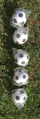 Moosgummiball Fußball ⚽️ Hundespielzeug 6cm Ø bißfest schwimmfähig, Neu