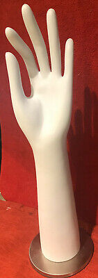 White Mannequin Hand Display Left Hand