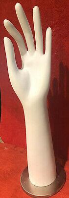 White Mannequin Hand Display Left Hand
