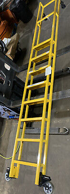 Nice Cotterman 7180 Straight Side 8-step Rolling Ladder Multiple In Stock