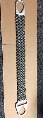 Lift All Mt4 3ft Long Mesh Chain Lifting Sling Choke 4800 Lbs Basket 9600 Lbs