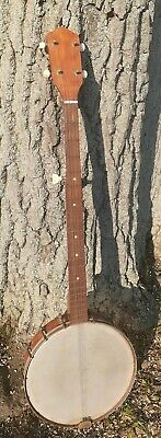 vintage 1965 5-String Banjo No Name