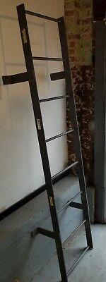 Reclaimed Industrial Salvaged Tri-arc Fixed Steel Ladder Wlfs0108