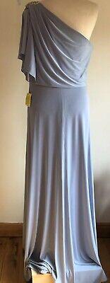 Jenny Yoo Bridesmaids Dress 12 Platinum Grey Prom Debs Evening Wedding Christmas