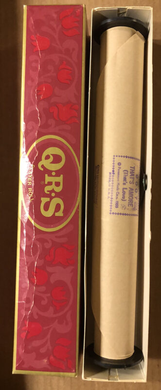 QRS Piano Roll That's Amore #9007