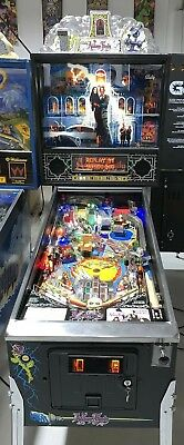 Addams Family Pinball Machine Bally Coin Op Arcade Pat Lawlor LEDs