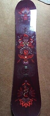 2017/18 Salomon Gyspy 138 Snowboard Womens Used Condition