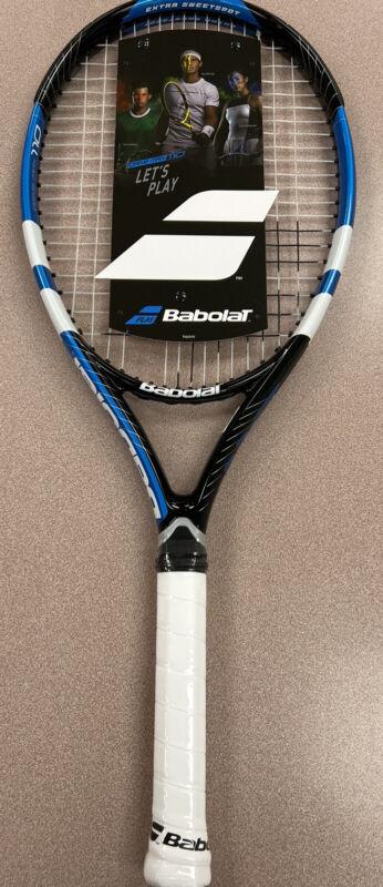 Babolat Drive Max 110 4 1/4 inch Tennis Racket STRUNG **NEW**