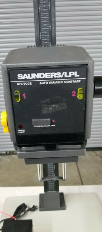 Saunders Lpl 670 VCCE Auto Variable Contrast Dual Channel  Tested Working