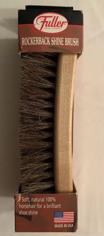 Fuller Brush Co Rockerback Shine Brush
