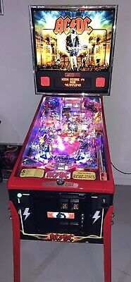 AC/DC Let There Be Rock Pinball Machine Stern Limited Edition 1 Of 200 Free Ship
