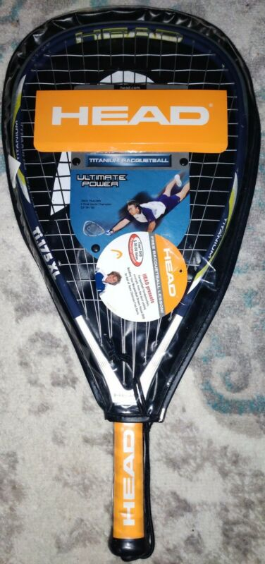 HEAD Ti.175 XL Racquetball Racquet 3 5/8 Brand New Club Racquet Titanium