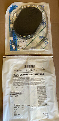 Kci V.a.c. Medium Granufoam Dressing M8275051 5 For Vac Therapy Sys. Lot Of 7