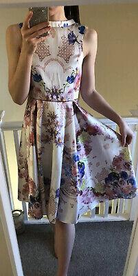 Hope And Ivy Ladies Beautiful Floral Dress UK