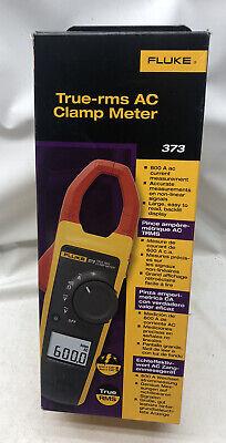 New 2020 Fluke 373 True-rms Ac Clamp Meter Amp Meter Never Used Orig Box
