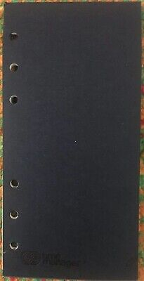 Rare Time Manager Filofax Organizer Personal Size Removable Notepad 332-101 New