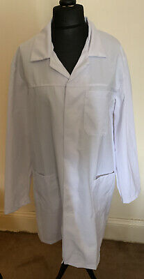 Brand New University Scrubs Lab Coat White  XL Extra Large