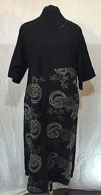 WATER LILY 100% COTTON LEISURE (Lily Kimono Sleeve Dress)