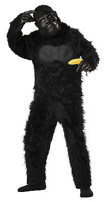 King Kong Gorilla Suit  Monkey Ape Silver Back Child Costume