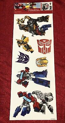 Transformers Classic Characters Wall Decals Stickers Removable ()
