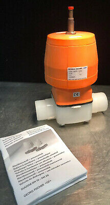 Gf Georg Fischer Function Control Valve 199.025.336 1.85cpvcptfe