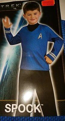 Boys Spock Star Trek Child's Costume Size Medium 8-10 New with tags.