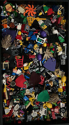 LEGO BULK LOT MINIFIGURE RANDOM PARTS, PEOPLE  + ACCESSORIES And MORE MINI FIG