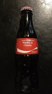 Warren Buffet Charlie Munger Coca Cola Berkshire Hathaway GLASS Wall Street SALE](Charlie Warren)