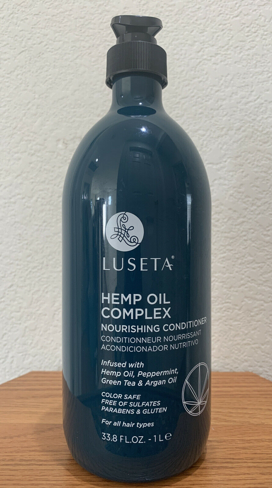 Luseta HEMP OIL COMPLEX Nourishing Conditioner w/ Hemp Oil, 33.8 fl oz New