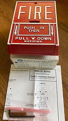 Notifier Nbg-10 Fire Alarm Pull Station