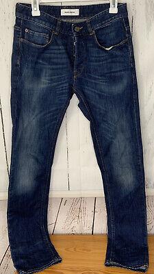 Mauro Grifoni sz 30 Rocco Mens Jeans Straight Stretch Denim Pants